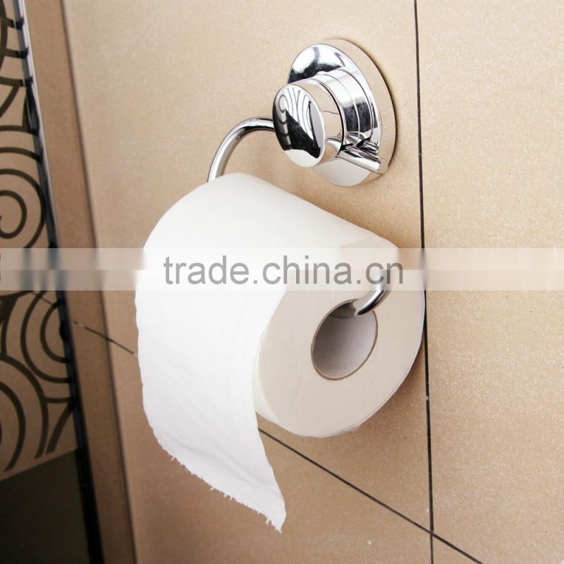 Round metal bathroom design Chrome Toilet Paper Holder,Roll Holder,Tissue Holder Without Cover