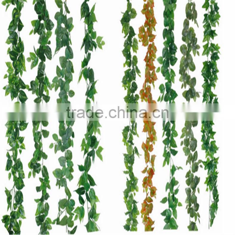 SJZJN 2587 Best selling attractive artificial ivy vines artificial plastic ivy