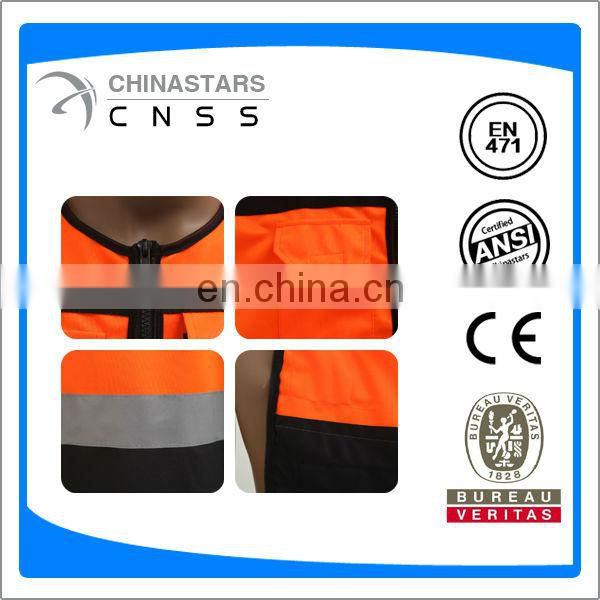 riding safety jacket with pocket