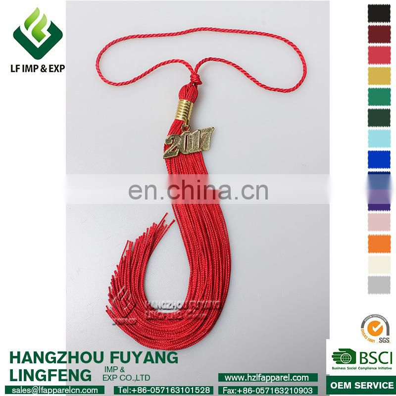 Graduation Tassel with 2017 or 2018 year charm