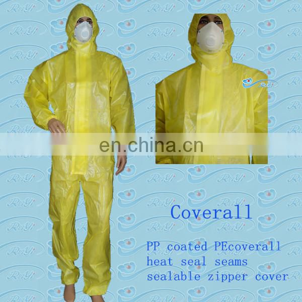 Disposable SMS Working Overall / Coverall for Protection