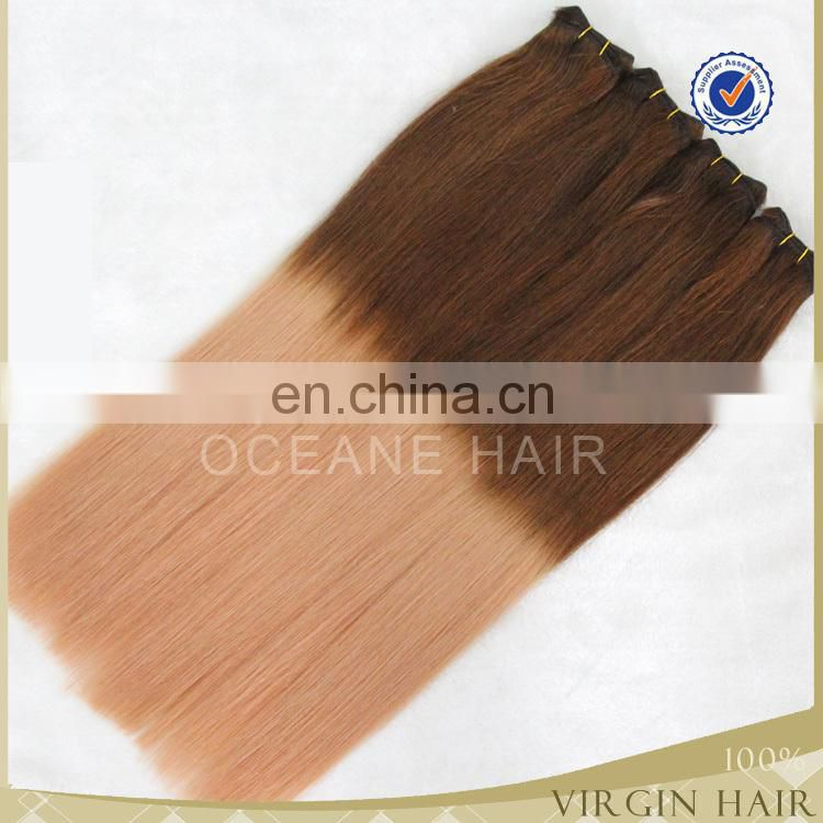 colored two tone hair weave two tone human remy hair ombre human hair