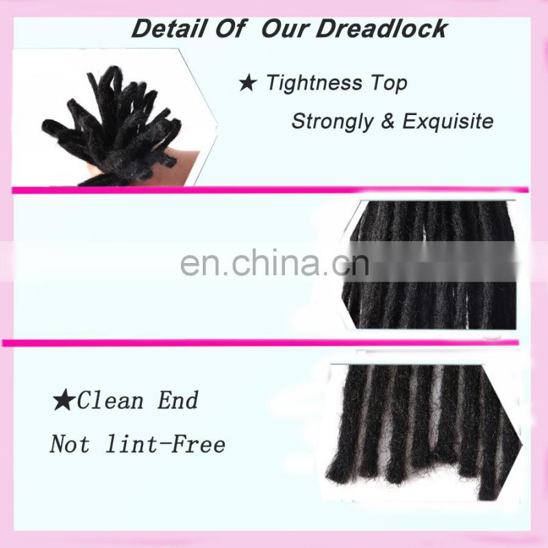 Alibaba wholesale colorful hot selling Synthetic Dreadlock extensions hair bulk