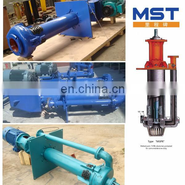 Submersible pumps for dredging sand in river