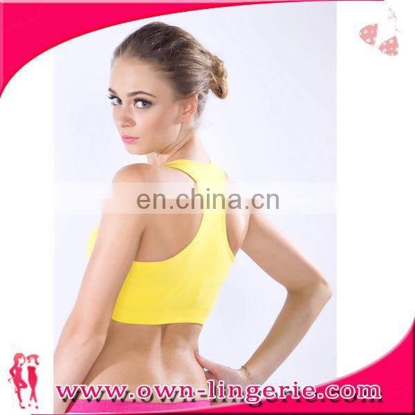 mature lady sexy bra for sports bra tops Private Label Sport Underwear