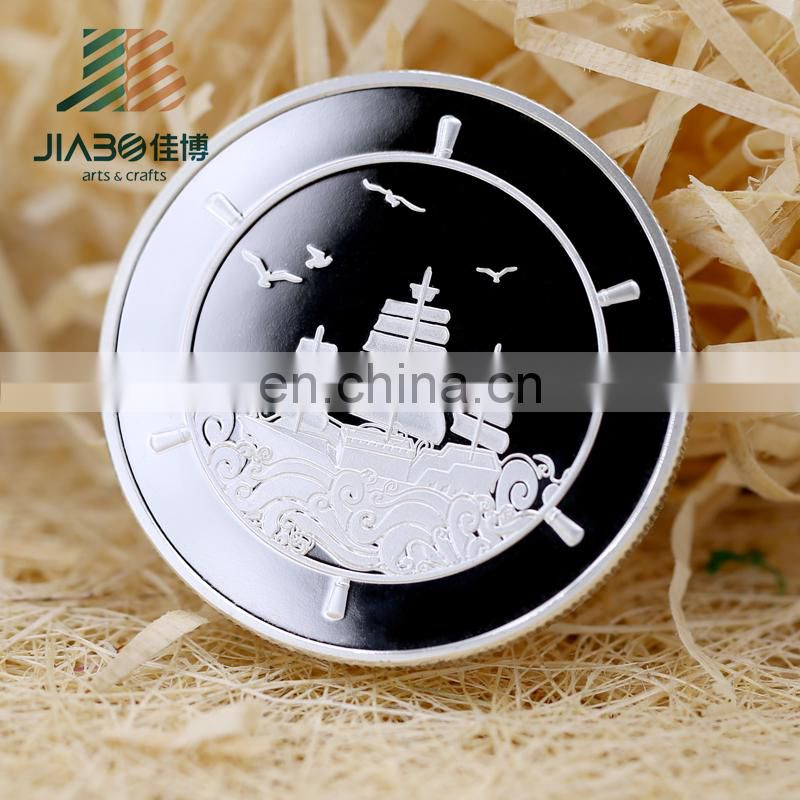 Promotion silver coin souvenir silver coin commerative coin