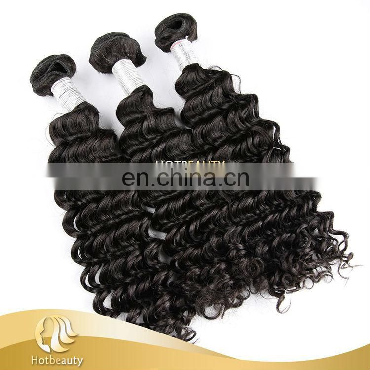 Silky and Bouncy Human Hair, Unprocessed Peruvian Water Wave Human Hair Extension