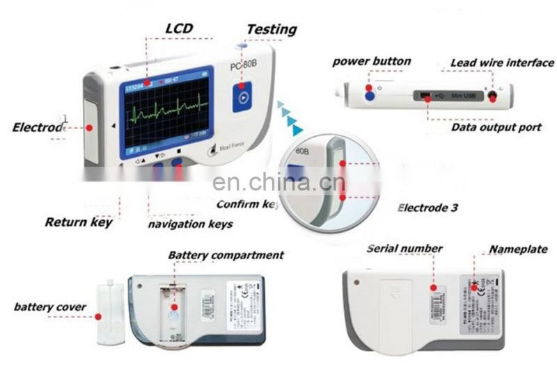 PC-80B Easy ECG Monitor