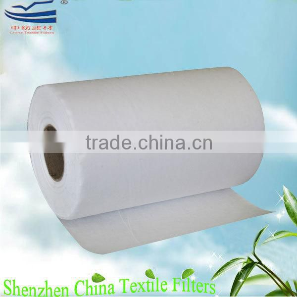 HEPA filter pre pleated paper media in rolls