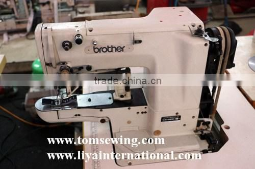Japan Used Second Hand Industrial Brother 40 Bartack Sewing Machine Stunning Second Sewing Machines Sale