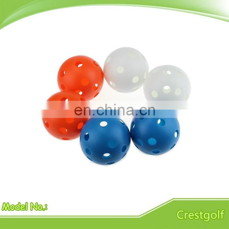 Wholesale Cheap Colored Plastic Practice Golf Balls