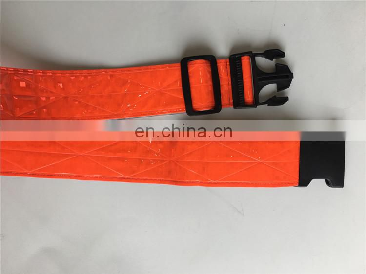 High Quality Walking Reflective waist Vest Reflective Running Safety Vest Belt
