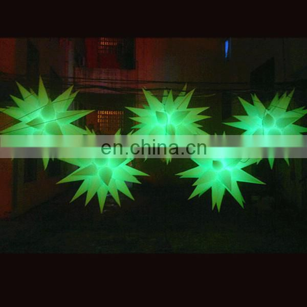 NB-ST3124 Many horns inflatable star for wedding decoration