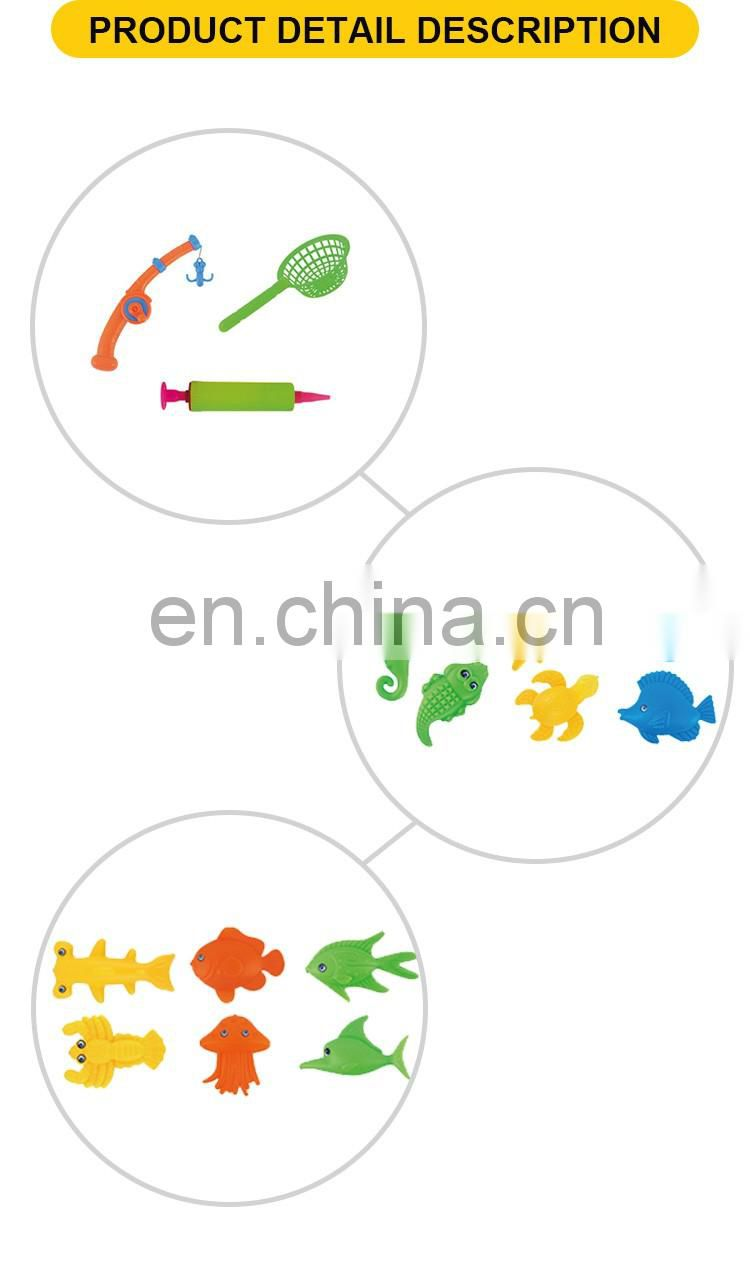 Magnetic Fishing Combination Fish Hook With Inflatable Pool