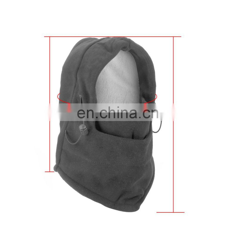 Factory Price Outdoor Thickening Face Mash Velvet Cap Warm Windbreak Riding Hat
