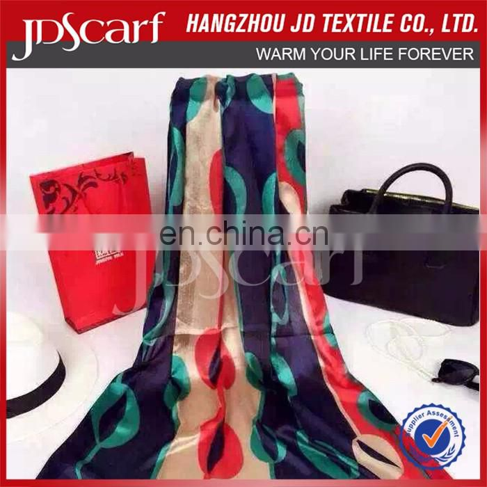 Superior Quality China Manufacturer Latest Design Polyester Summer Scarf