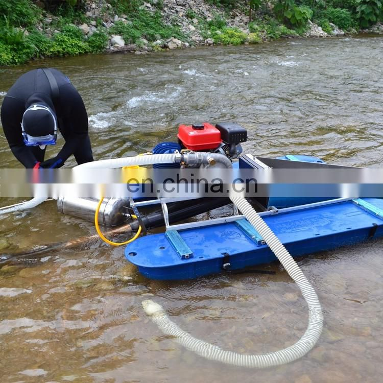 Mini dredger for river gold mining