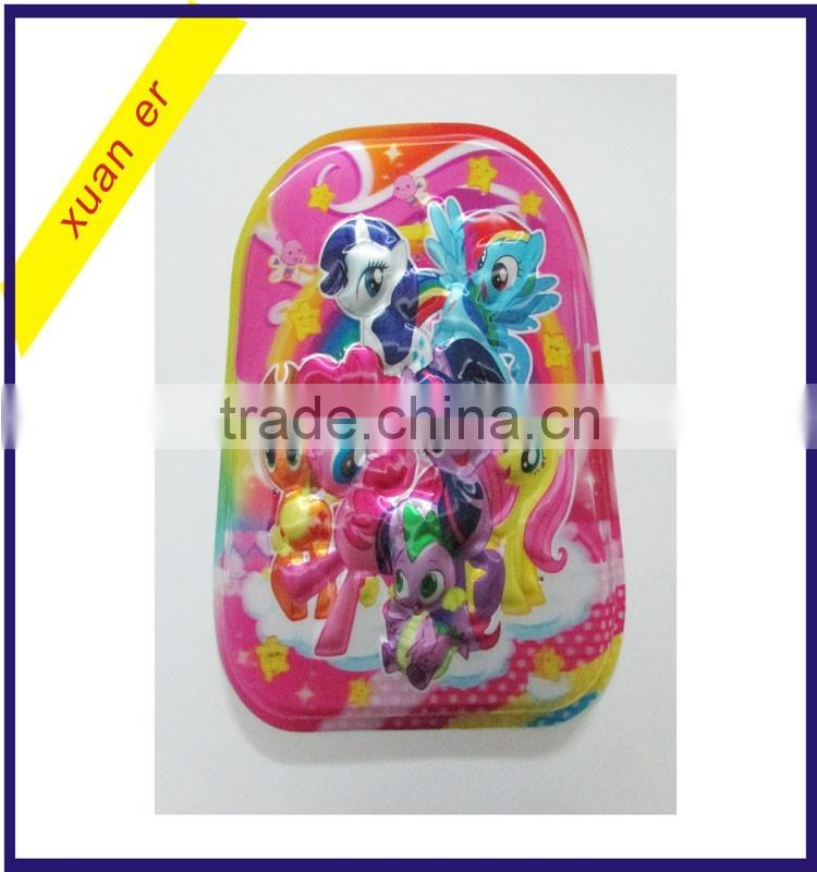 Blister cover of the 3D school backpack bag in alibaba china