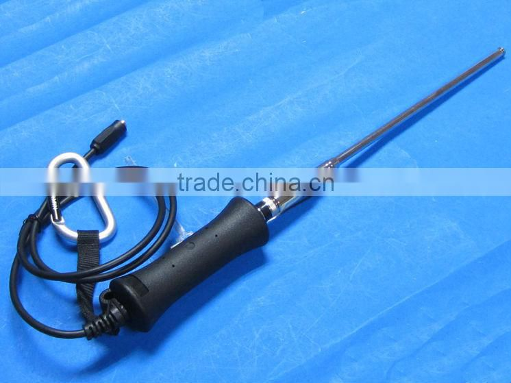 car decoration antenna 4 sections rod antenna 80cm cable injection SMA male connector