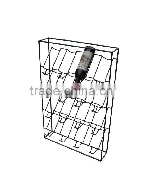 New Wire Floor Liquor Bottle Display Rack Hxs 1355 Of Wine Rack From