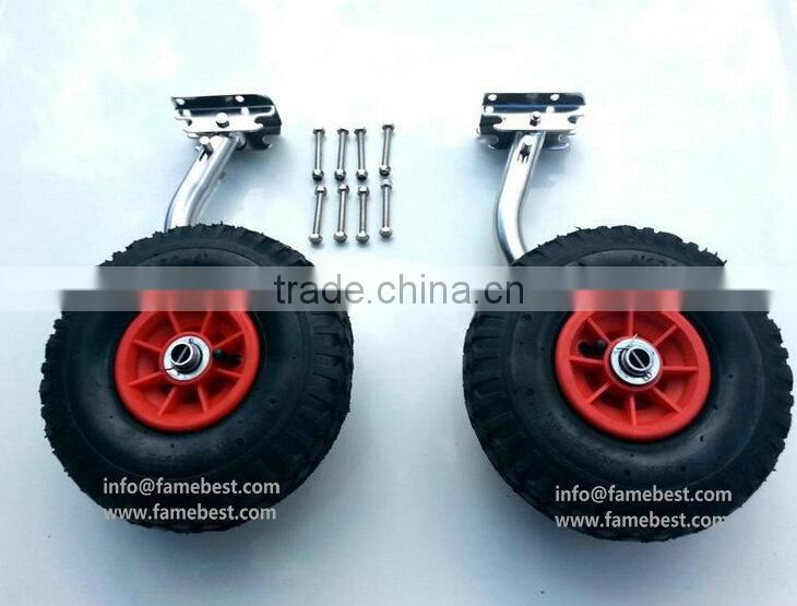 Wheels Dinghy Dolly Wheels for Inflatable Boat// Tinnies// Kayak Launching Wheels