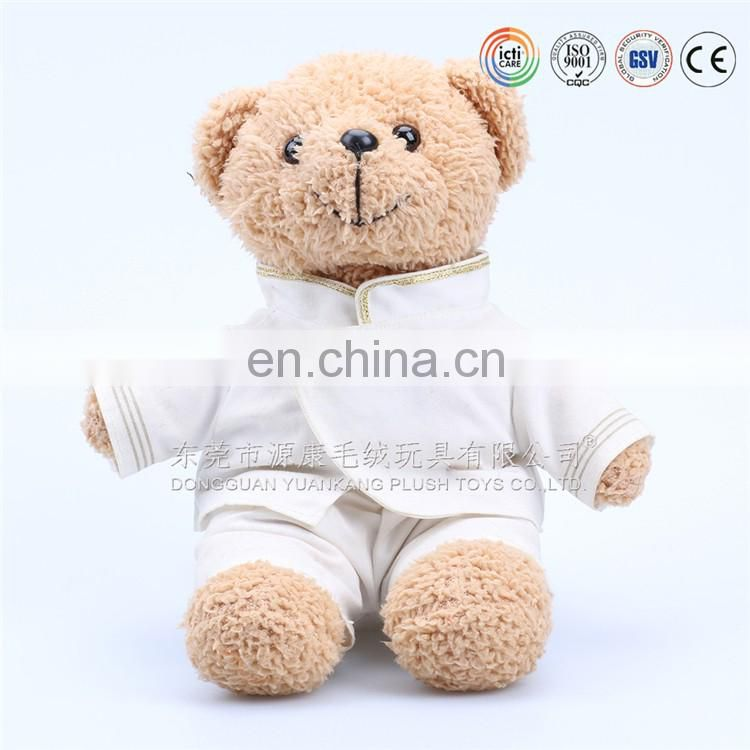 Factory direct sale plush toy organic baby teddy bear toys