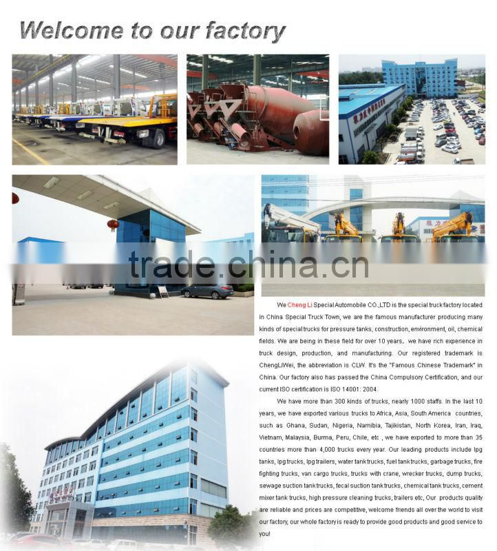CLW Bulk Cement Vehicle,handicap vehicle, bulk cement truck