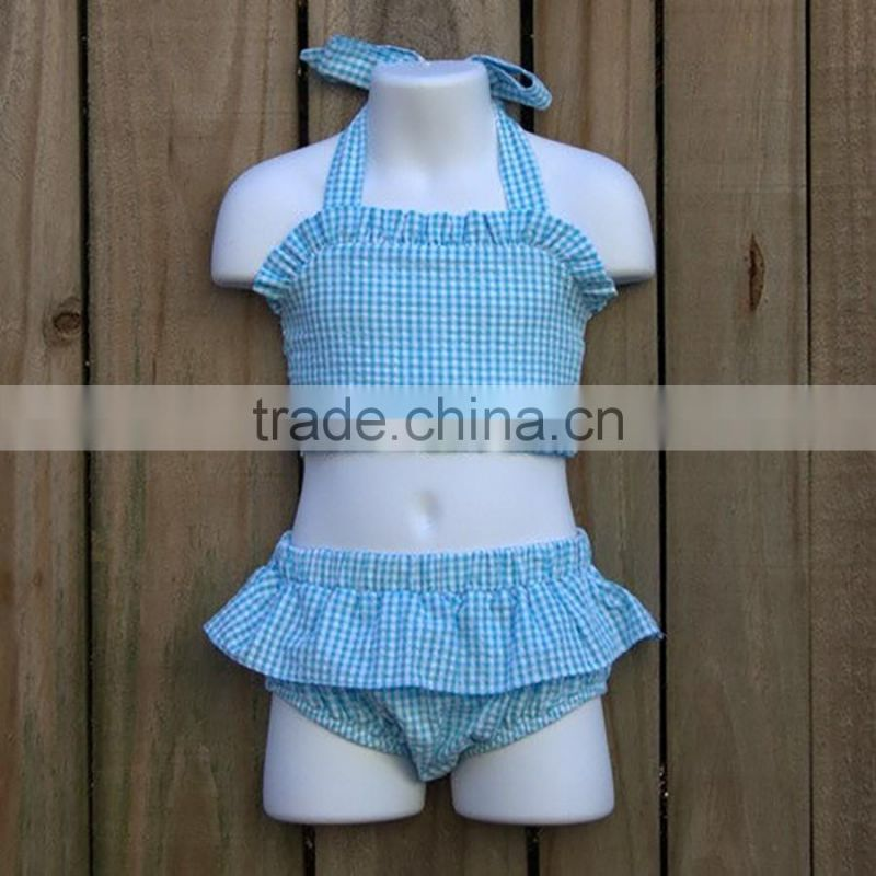 Boutique Soft Baby Clothes Girls Summer Outfits Kids Floral Patterns Top And Yellow Cute Bloomers Children Set