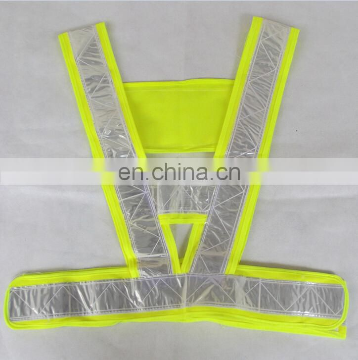 reflective PVC belt for roadworker