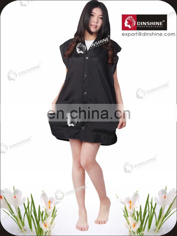 2015 new arrival sleeveless salon uniforms for salon
