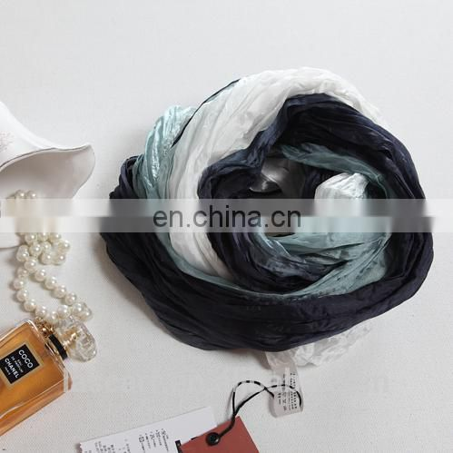 2015 fashion design woman good quality scarf hand-painted loop shawl(SS002l)