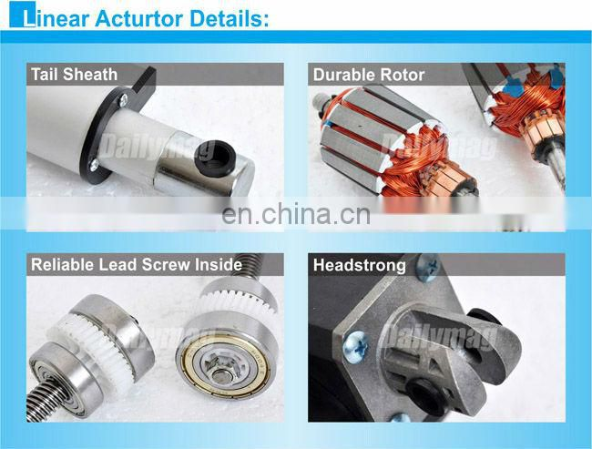 Electric DC Medical Used High Speed Linear Actuator