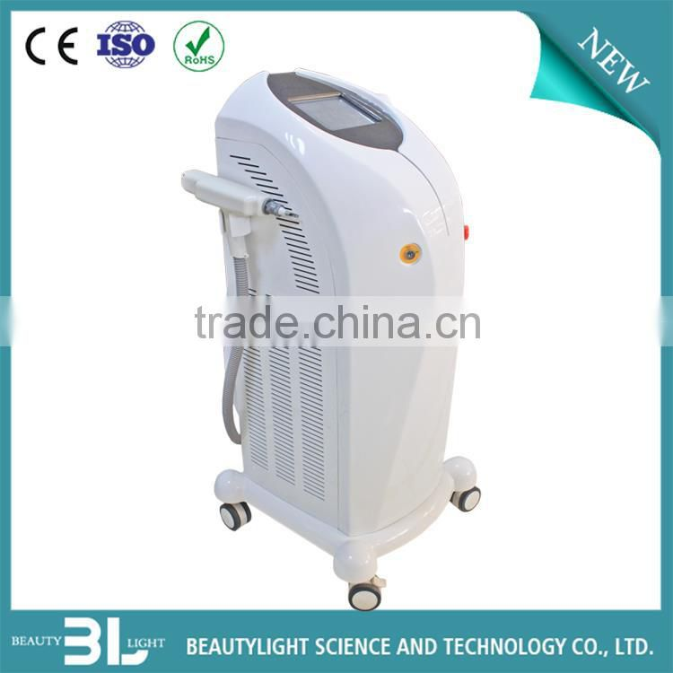 Three treat handle !! Multi-function IPL RF Elight Laser 3 in 1 hair removal / Face Lift machine with CE approval