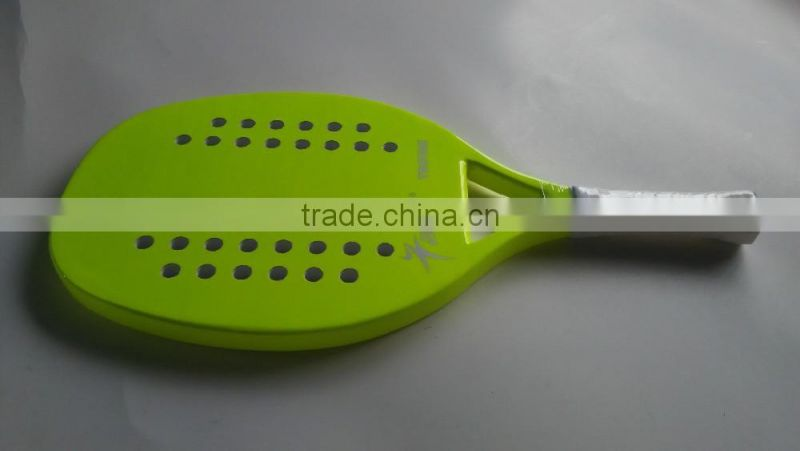 wholesale carbon fiber beach tennis paddle