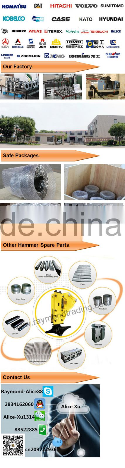 excavator steel sleeve bearings