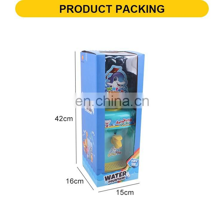 New product plastic toy for kid mini water dispenser