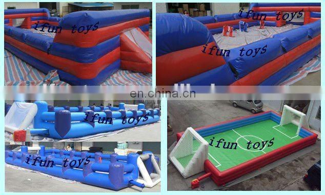 2013 large inflatable football court