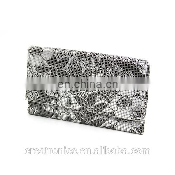 CR Europe designer developed and approved new cheap wholesale mesh cosmetic bags