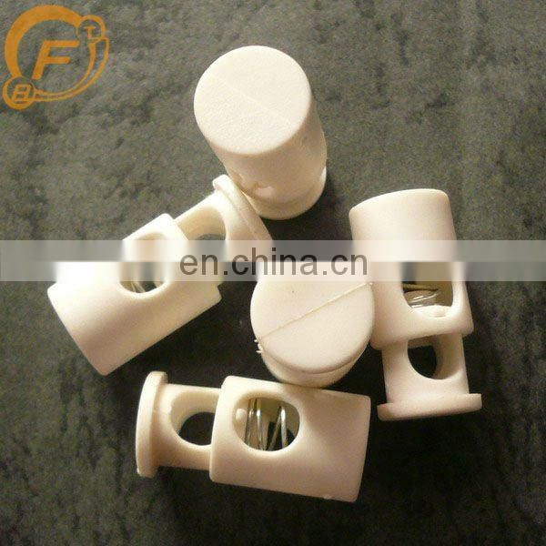 white beauty plastic toggle button for button