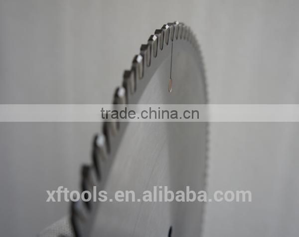 550x4.4/3.7x30x120T hukay tct saw blade for cutting aluminum profile