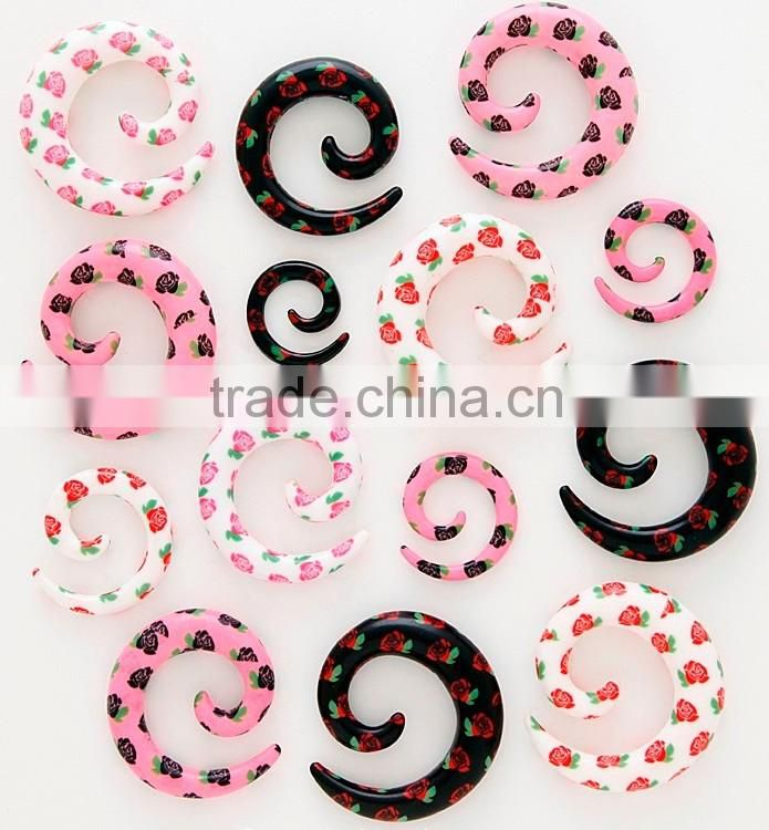 multi-color piercing body jewelry plugs and tunnels Wholesale