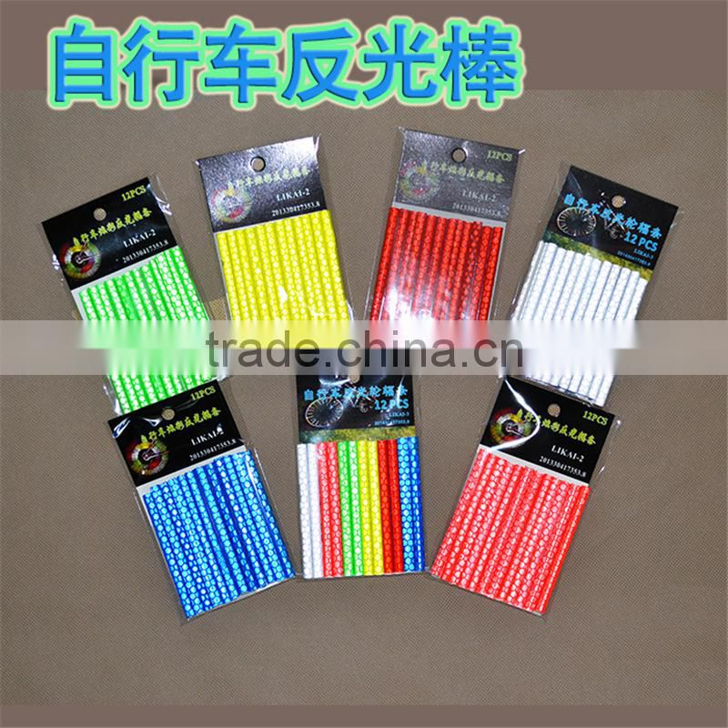 12pcs Reflective Night Safety Spoke