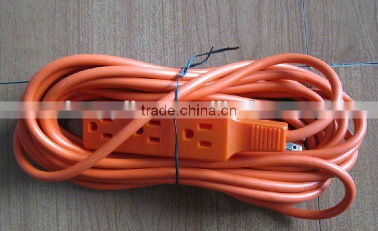 S30145 Triple outlet outdoor extension cord