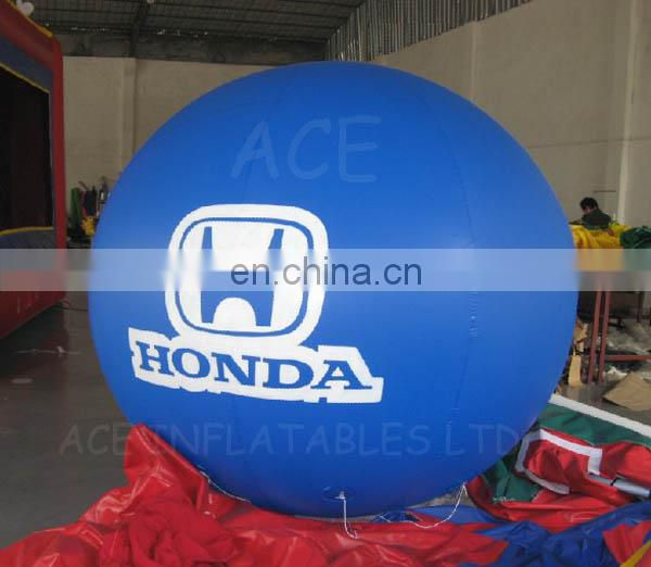 Inflatable helium balloon with car brand printing for sale
