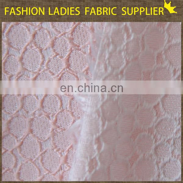 Onway Textile New design woven jacquard red shirting fabric