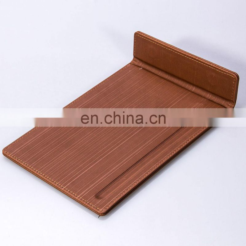 Alibaba China Supplier Quality Custom Leather Memo Pad Holder