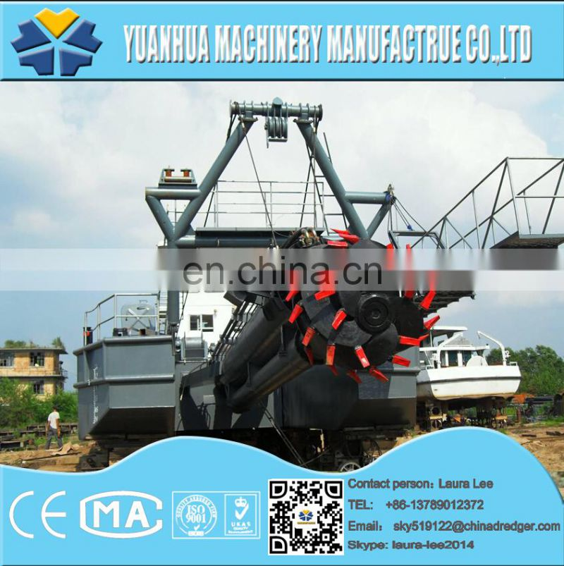 cutter suction dredger for Kazakstan dredging