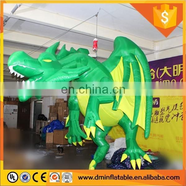 2016 LED light inflatable dargon Column or Dragon Pillar