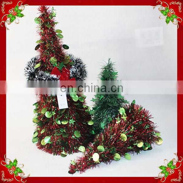 2014 cheap tinsel for decorative Artificial Christmas tree