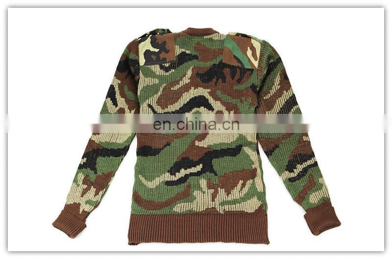 wool army sweater pullover